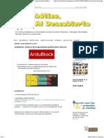 Ardublock Entorno de Programación Gráfica