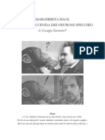 Margherita Hack e Lamara Faccenda Dei Neuroni Specchio