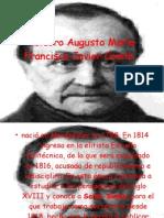 Isidoro Augusto María Francisco Javier Comte