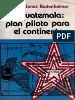 Jonas Susane - Guatemala Plan Piloto