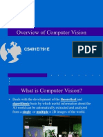 Computer Vision and Artificial Intelligence