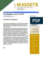 Northern Utah Prospectors (NUPA) Newsletter
