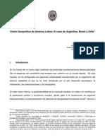 Visión Geopolítica de America Latina
