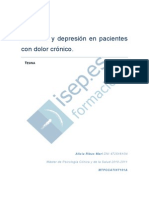 Ansiedad Y Depresion en Pacientes Con Dolor Cronico