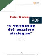 5 Tecniche Del Pensiero Strategico
