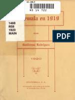 Rodríguez, Guillermo - Guatemala en 1919