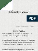 Historia de La Música I - Antiguedad