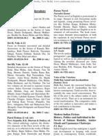 Prestige Books Catalog Jul06