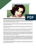 Experienta Lui Elizabeth Taylor in Moarte Clinica