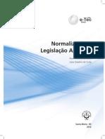 Normalização e Legislação Aplicada