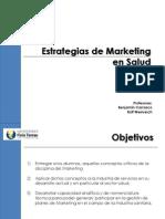 Estrategias de Marketing en Salud Sesión 2