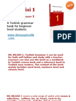 Turkish Lesson Books Beginner Dilbilgisi1