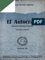 Ospina - El Autócrata Ensayo Político-social