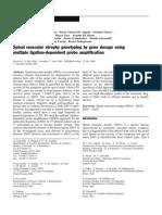 SMA e MLPA (Neurogenetics06)