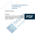 Intervencion Familiar Para Mejorar La Adhesion Al Tratamiento en Drogodependencias
