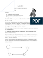Adapted PE Activities for children with severe needs