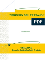 Derecho Del Trabajo I - Unidad II - Alumnos
