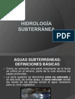 HIDROLOGÍA SUBTERRÁNEA.pptx