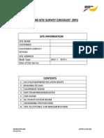 Tellabs 8600 Rfi Checklist