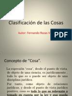 Clasificación de Las Cosas-1