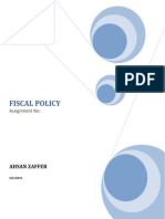 Fiscal Policy 111
