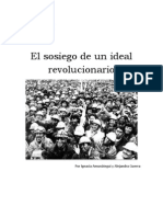 El Sosiego de Un Ideal Revolucionario - Trabajo