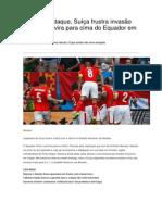 Suiça Versus Equador