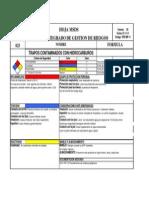 025 Trapos Contaminados Con Hidrocarburos