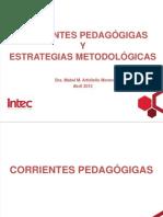 Corrientes Pedagógicas Del S XXI