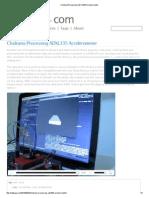 Clodiuno_Processing ADXL335 Accelerometer