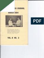 Hoosier Chess Journal Vol. 6, No. 2 Mar 1984