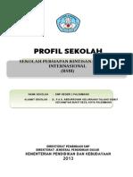 Profil SMPN1 Palembang 2013