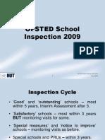 OFSTED Framework October 2009