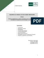 Resumen Del Manual de Oslo Sobre Innovación4