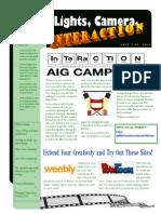 aig camp newsletter 3