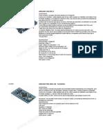 Sensores y Actuadores Arduino
