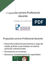 Propuesta Carrera Profesional Docente