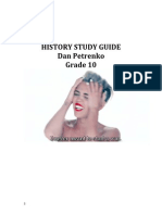 History Grade 10 Study Guide