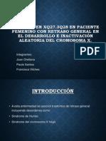 Delecion en Xq27-1.pptx