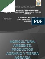 Diapositivas de Agrario