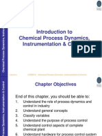 Chemical Process Dynamics and Control Chapter 1 Lecture Notes