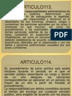 ARTICULOs113-116
