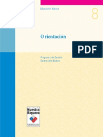 Programa de Estudio 8° Básico - Orientacion (año 2000)(1)