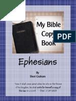Ephesians Copybook