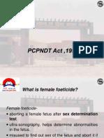 PCPNDT Act 1994