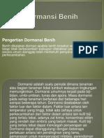Dormansi Benih. 2014ppt