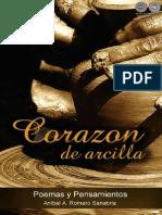 CORAZON DE ARCILLA - Poemario de ANIBAL ROMERO - Portal Guarani