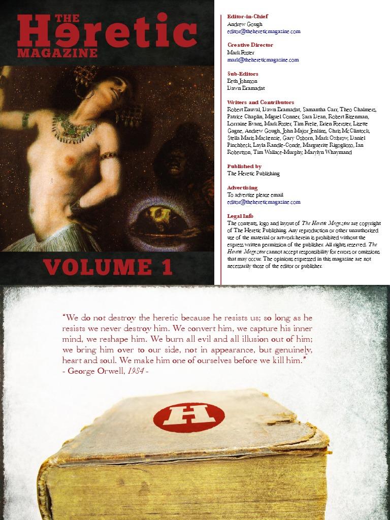 the heretic magazine lisbeth salander millennium novel series