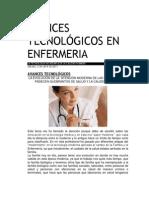 Ances Tecnológicos en Enfermeria