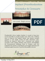 Advanced Implant Prosthododntics